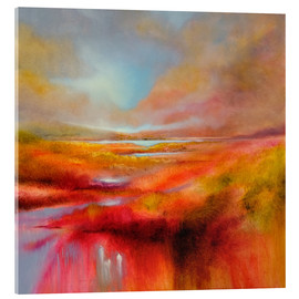 Acrylic print  just let it be a perfect day - Annette Schmucker