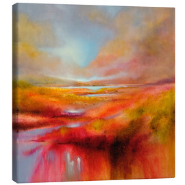 Canvas print  just let it be a perfect day - Annette Schmucker