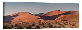 Canvas  Dune landscape in the Sossusvlei, Namibia - Circumnavigation