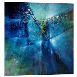 Acrylic glass  and i dreamed i was flying - Annette Schmucker