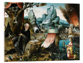 Acrylic print  The Temptations of St. Anthony - Hieronymus Bosch
