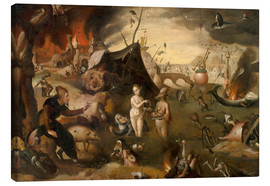 Canvas print  The Temptations of St. Anthony - Hieronymus Bosch