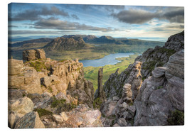 Canvas print  Stac Pollaidh in Scotland - Michael Valjak