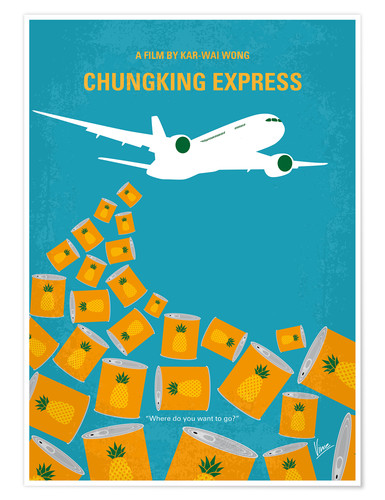 Premium poster No835 My Chungking Express minimal movie poster
