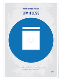 Premium poster No828 My Limitless minimal movie poster