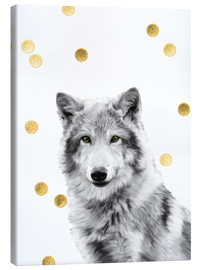 Canvas print  Wolf - Mandy Reinmuth