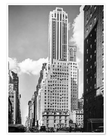 Premium poster Historic New York: Madison Avenue