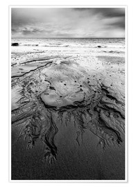 Poster  Shapes in the sand - Andreas Kossmann