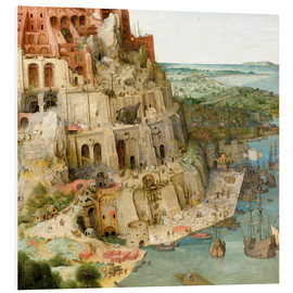 Forex  Tower of Babel (detail) - Pieter Brueghel d.Ä.