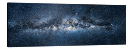 Aluminium print  Milky way panorama - Jan Christopher Becke