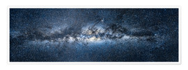 Premium poster  Milky way panorama - Jan Christopher Becke