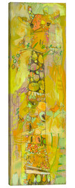 Canvas print  yellow g - Jennifer Mercede