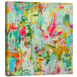 Canvas print  the real raw - Jennifer Mercede
