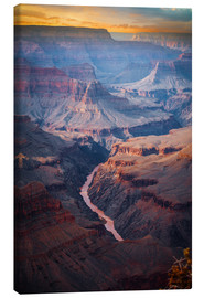 Canvas print  Amazing Sunrise at the Grand Canyon