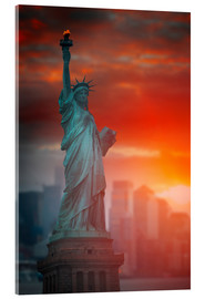 Acrylic print  The freedom?