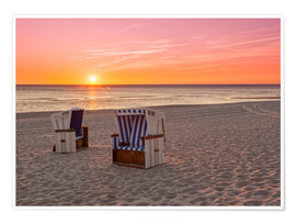 Premium poster  Beautiful Baltic Sea beach