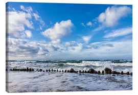 Canvas print  Swell of the Baltic Sea