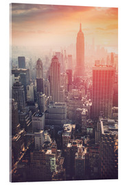 Acrylic print  The Empire State building