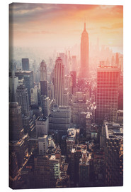 Canvas print  The Empire State building