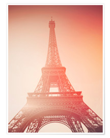 Premium poster Paris, my love