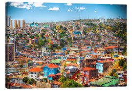 Canvas  UNESCO World Heritage city of Valparaiso