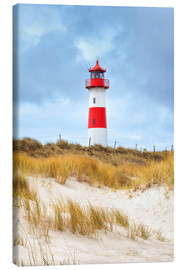 Canvas print  Lighthouse in the east of the peninsula, Ellenbogen