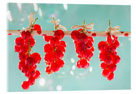 Acrylic glass  Red currants full - K&L Food Style
