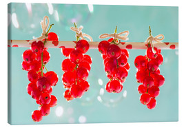 Canvas  Red currants full - K&L Food Style