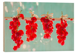 Wood  Red currants full - K&L Food Style