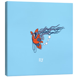Canvas print  Fly - Olly