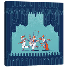 Canvas print  Little Theatre - Olly
