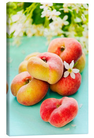 Canvas print  Summer peaches - K&L Food Style