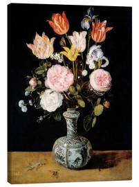 Jan Brueghel d.Ä. - Flowers in a Chinese Vase