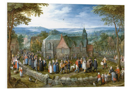 Jan Brueghel d.Ä. - Village wedding