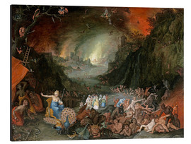 Jan Brueghel d.Ä. - Juno in the Underworld