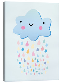 Canvas  Happy little cloud - Kidz Collection