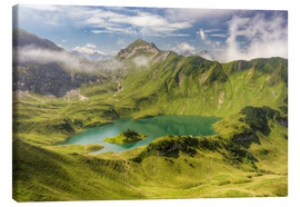 Canvas print  Schrecksee in Bavaria - Michael Valjak