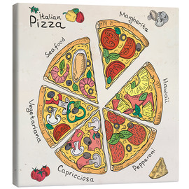 Canvas print  Pizza Time