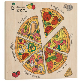 Wood  Pizza Time
