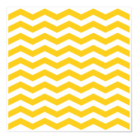 Yellow zigzag