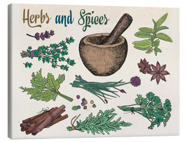 Canvas  Herbs