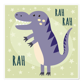 Poster  Little dinosaur - Kidz Collection