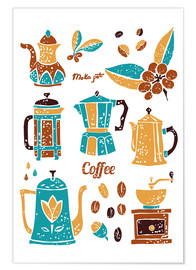 Poster Coffee Collection