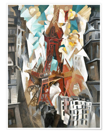 Premium poster Champs de Mars: The Red Tower
