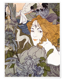 Premium poster  The Return - Georges de Feure