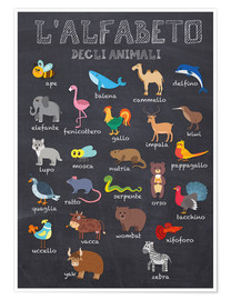 Kidz Collection - Alphabet of Animals - Italian