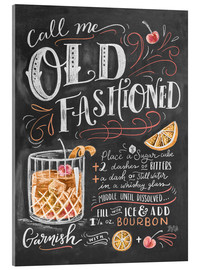 Acrylic print  Old fashioned recipe - Lily & Val