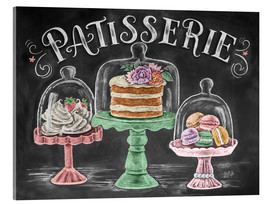 Acrylic print  Patisserie - Lily & Val