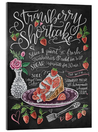 Acrylic print  Strawberry Shortcake - Lily & Val