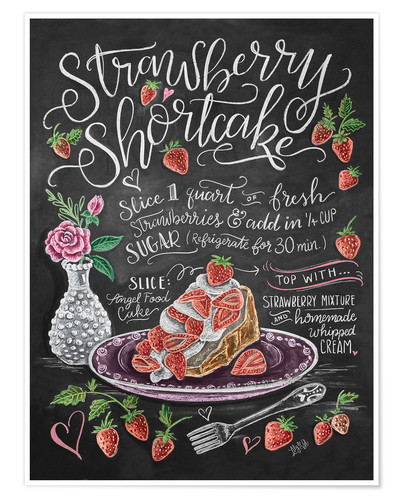 Premium poster Strawberry Shortcake